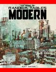 RPG Item: The Book of Random Tables: Modern