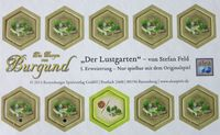 Board Game: The Castles of Burgundy: 5th Expansion – Pleasure Garden