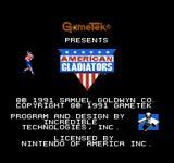 Video Game: American Gladiators (NES)