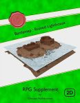 RPG Item: Battlemap: Ruined Lighthouse