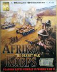 Board Game: Afrika Korps: The Desert War – Platoon Level Combat in World War II: A Panzer Grenadier Game