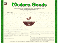 RPG Item: Seeds: Modern