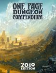 RPG Item: One Page Dungeon Compendium: 2019 Edition