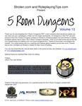 RPG Item: 5 Room Dungeons: Volume 13