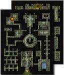 RPG Item: GameMastery Flip-Mat: Dungeon (II)