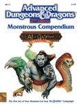 RPG Item: MC13: Monstrous Compendium, Al-Qadim Appendix