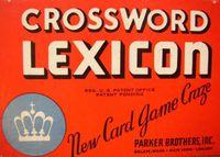 Board Game: Lexicon