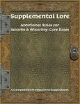 RPG Item: Supplemental Lore