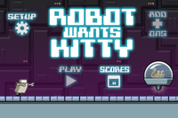 Video Game: Robot Wants Kitty