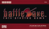 RPG Item: BattleAxe Role-Playing Game