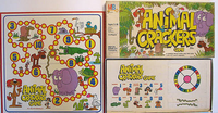 Board Game: Animal Crackers Game