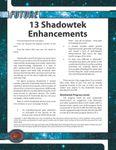 RPG Item: 13 Shadowtek Enhancements