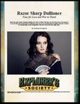 RPG Item: Razor Sharp Dalliance: Fans for Love and War in Théah
