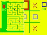 Video Game: Amazing Maze/ Tic-Tac-Toe