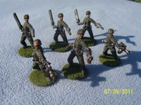 Plastic army men Imperial Guard proxy figures | Affordable Science