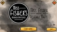 Video Game: Miss Fisher and the Deathly Maze