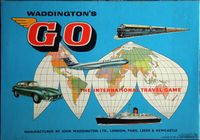 Board Game: Go: The International Travel Game