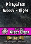 RPG Item: Heroic Maps Giant Maps: Kittywitch Woods - Night