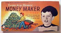 Board Game: Leave It To Beaver Money Maker Game