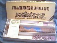 Board Game: The American Goldrush 1849