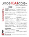 RPG Item: Undefeatable 17: Loremaster