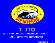 Video Game: Air Inferno