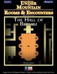RPG Item: Rooms & Encounters: The Hall of Bedlam