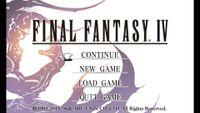 Video Game: Final Fantasy IV