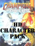 RPG Item: Champions Powers Character Pack (HD Character Pack)