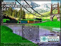 Video Game: Bridge Construction Set