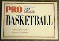 Board Game: Pro Table Games Co.: Basketball
