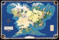 RPG Item: Middle-earth Poster Map