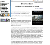 RPG Item: Bloodhawk Down