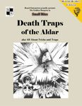 RPG Item: Death Traps of the Aldar (World-Walker Edition)