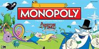 Board Game: Monopoly: Adventure Time Collector's Edition