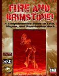 RPG Item: Fire and Brimstone!