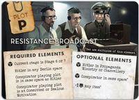 Board Game: Black Orchestra: Resistance Broadcast Promo