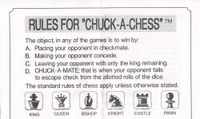 Board Game: CHUCK-A-CHESS
