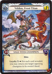 Board Game Accessory: Epic Card Game: Velden, Frost Titan