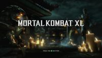 Video Game: Mortal Kombat X