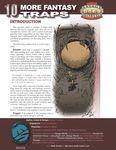RPG Item: 10 More Fantasy Traps
