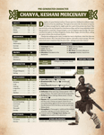 RPG Item: Conan Free RPG Day Extra Characters