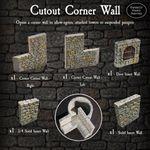 RPG Item: Cutout Corner Walls Pack