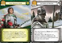 Board Game: A Game of Thrones: The Card Game (Second Edition) – Wolves of the North
