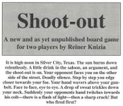 Board Game: Shoot Out