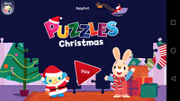 Video Game: Christmas Puzzles for Kids