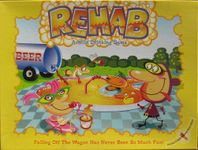 Board Game: Rehab: A Wild Drinking Game