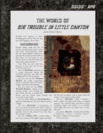 RPG Item: The World of Big Trouble in Little Canton