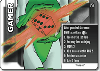 Board Game: Heroes Wanted: Gamer Promo Card