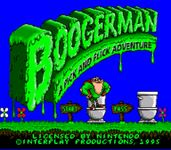 Video Game: Boogerman: A Pick and Flick Adventure